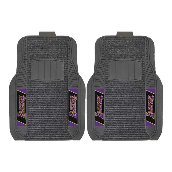 NBA - Los Angeles Lakers 2-pc Deluxe Car Mat Set Front Car Mats