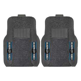 NBA - Oklahoma City Thunder 2-pc Deluxe Car Mat Set Front Car Mats