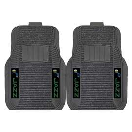 NBA - Utah Jazz 2-pc Deluxe Car Mat Set Front Car Mats