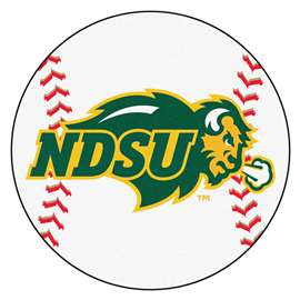 North Dakota State University   Baseball Mat Rug Carpet Mats