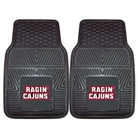 University of Louisiana-Lafayette  2-pc Vinyl Car Mat Set