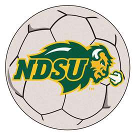 North Dakota State University   Soccer Ball Mat, Rug , Carpet