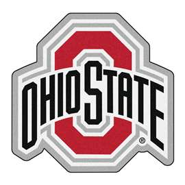 Ohio State University Mascot Mat Custom Shape Rugs