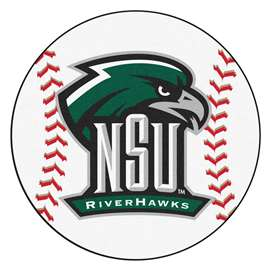 Northeastern State University  Baseball Mat Rug Carpet Mats