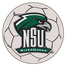 Northeastern State University  Soccer Ball Mat, Rug , Carpet