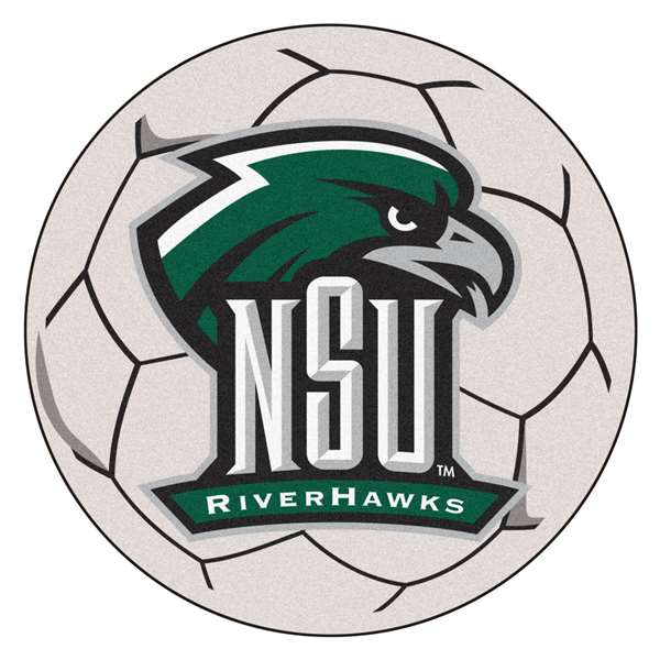 Northeastern State University Soccer Ball Ball Mats
