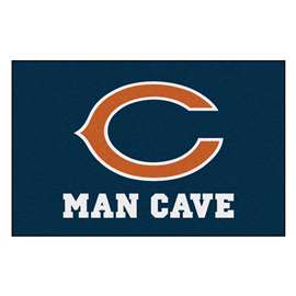 NFL - Chicago Bears Man Cave Starter Rectangular Mats