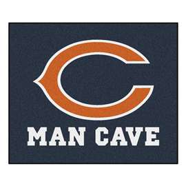 NFL - Chicago Bears Man Cave Tailgater Rectangular Mats
