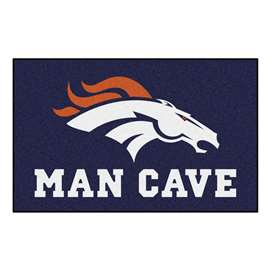 NFL - Denver Broncos Man Cave UltiMat Rectangular Mats