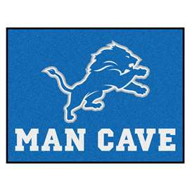 NFL - Detroit Lions Man Cave All-Star Rectangular Mats