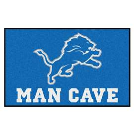 NFL - Detroit Lions Man Cave UltiMat Rectangular Mats