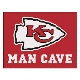 NFL - Kansas City Chiefs Man Cave All-Star Rectangular Mats