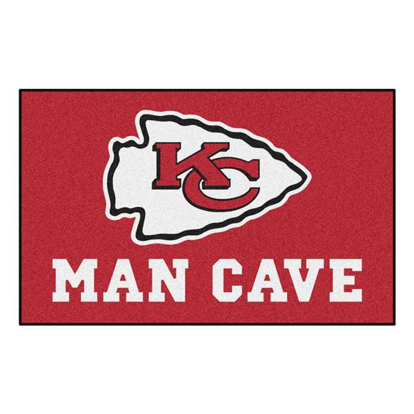 NFL - Kansas City Chiefs Man Cave UltiMat Rectangular Mats