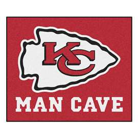 NFL - Kansas City Chiefs Man Cave Tailgater Rectangular Mats