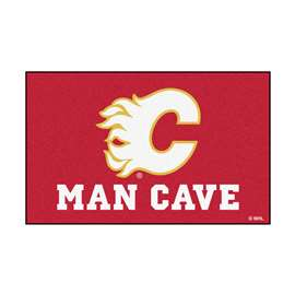 "NHL - Calgary Flames Mat, Rug Carpet 59.5""x94.5"""