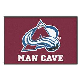 "NHL - Colorado Avalanche Mat, Rug Carpet 19""x30"""