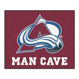 NHL - Colorado Avalanche Man Cave Tailgater Rectangular Mats
