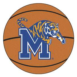 University of Memphis Basketball Mat Ball Mats