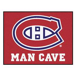 NHL - Montreal Canadiens Man Cave All-Star Rectangular Mats