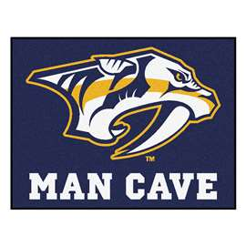 "NHL - Nashville Predators Mat, Rug Carpet 33.75""x42.5"""