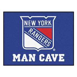 "NHL - New York Rangers Mat, Rug Carpet 33.75""x42.5"""
