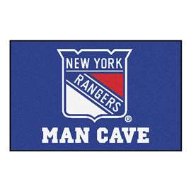 "NHL - New York Rangers Mat, Rug Carpet 19""x30"""