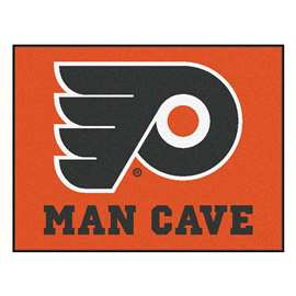 NHL - Philadelphia Flyers Man Cave All-Star Rectangular Mats