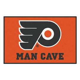 NHL - Philadelphia Flyers Man Cave Starter Rectangular Mats