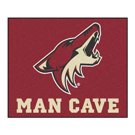 NHL - Arizona Coyotes Man Cave Tailgater Rectangular Mats
