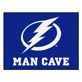 "NHL - Tampa Bay Lightning Mat, Rug Carpet 33.75""x42.5"""