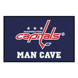 "NHL - Washington Capitals Mat, Rug Carpet 19""x30"""