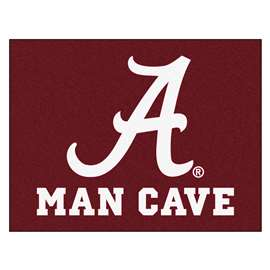 University of Alabama  Man Cave All-Star Mat, Rug Carpet