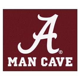 University of Alabama  Man Cave Tailgater Mat, Rug Carpet