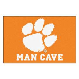 Clemson University  Man Cave Starter Mat, Rug Carpet