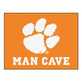 Clemson University  Man Cave All-Star Mat, Rug Carpet