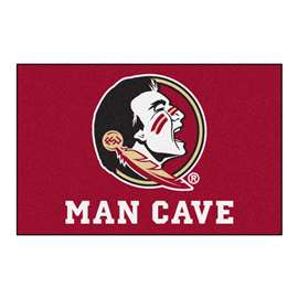 Florida State University  Man Cave Starter Mat, Rug Carpet