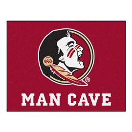 Florida State University  Man Cave All-Star Mat, Rug Carpet
