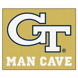 Georgia Tech  Man Cave Tailgater Mat, Rug Carpet