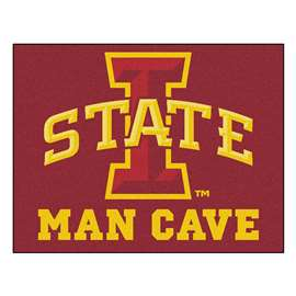 Iowa State University  Man Cave All-Star Mat, Rug Carpet