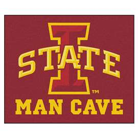 Iowa State University  Man Cave Tailgater Mat, Rug Carpet