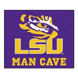 Louisiana State University  Man Cave Tailgater Mat, Rug Carpet