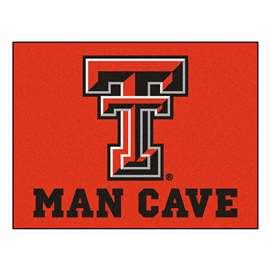 Texas Tech University Man Cave All-Star Rectangular Mats
