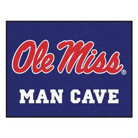 University of Mississippi (Ole Miss)  Man Cave All-Star Mat, Rug Carpet