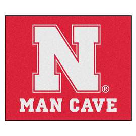 University of Nebraska  Man Cave Tailgater Mat, Rug Carpet
