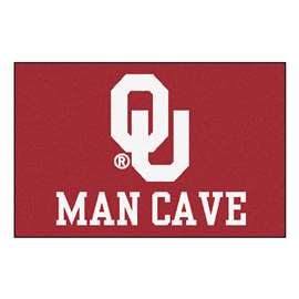 University of Oklahoma  Man Cave Starter Mat, Rug Carpet