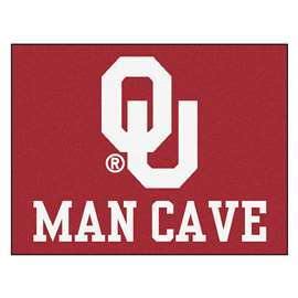 University of Oklahoma  Man Cave All-Star Mat, Rug Carpet