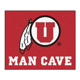 University of Utah Man Cave Tailgater Rectangular Mats