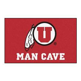 University of Utah Man Cave UltiMat Rectangular Mats