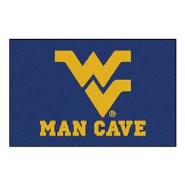 West Virginia University  Man Cave Starter Mat, Rug Carpet