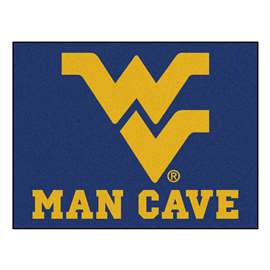 West Virginia University Man Cave All-Star Rectangular Mats